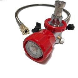 AC901 Connector Fit Vul Station Opladen Adapter Trillingen proof Manometer Duiken Apparatuur voor pcp lucht pistool condor 4500psi