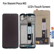 Original para xiaomi poco m3 display lcd tela do painel de toque digitador para pocophone m3 m2010j19cg tela lcd telefone peças