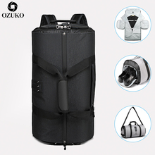 OZUKO New High Capacity Men Travel Bag for Suit Storage Trip Duffle Bag