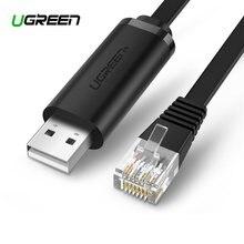 Ugreen usb к rj45 консольный кабель rs232 последовательный адаптер