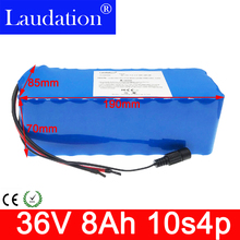 36v battery electric bicycle battery 18650 Li-ion Battery 10S4P 36V 8Ah 500W High Power and Capacity Motorcycle Scooter with BMS liitokala 36v 6ah 8ah 10 500w 18650 lithium battery 36v 8ah electric bike battery with pvc case for electric bicycle