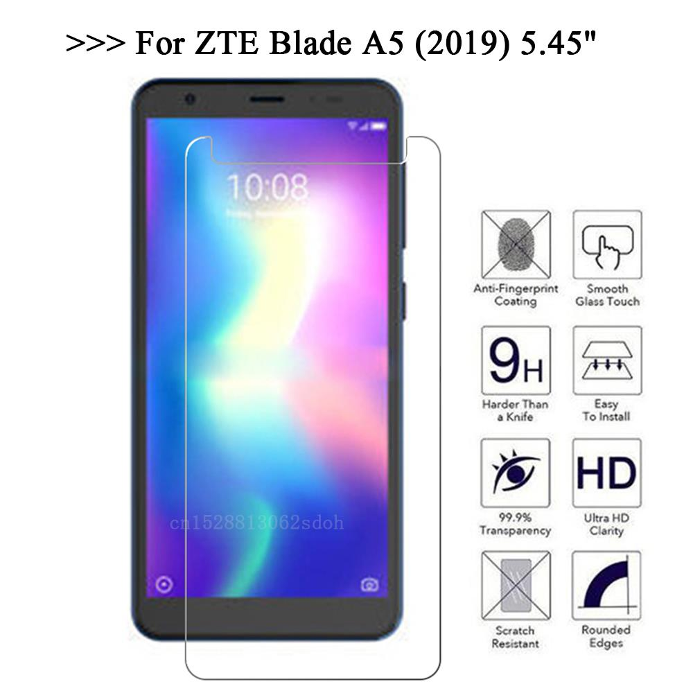 Tempered Glass For ZTE Blade A4 A5 2019 Safety Glass Mobile Phone Film Glass Case For ZTE A4 A 5 A 5 A A 4 Screen Protector
