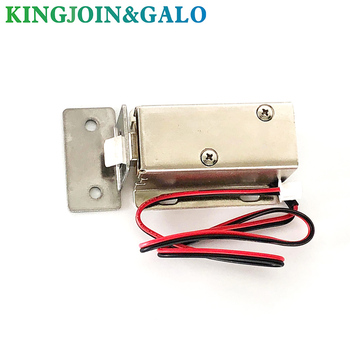 12V DC Mini Small Solenoid Lock Electromagnetic Electric Control Cabinet Drawer Lock Intelligent Auto Lock Home Improvement free shipping ec c2000 290sl dc 12v power supply control drawer lock electricity mortise lock signals output
