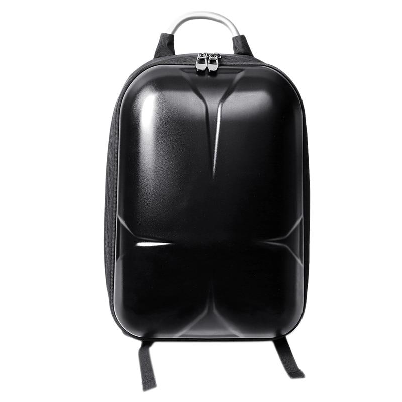 Tüketici Elektroniği'ten Kamera / Video Çantaları'de Su geçirmez sert kılıf Pc sırt çantası Xiaomi Fimi X8 Se rc dört pervaneli helikopter siyah title=