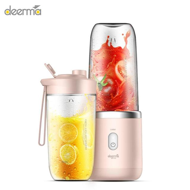 Deerma Automatic Juicer Multi Functional Mini Electric Portable USB Juicer For Deerma Home Kits