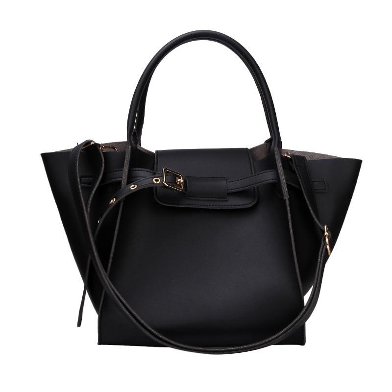 Bag Female 2019 New Shoulder Bag Korean Version Of The Simple Wild Messenger Bag Large Capacity Tote Bag
