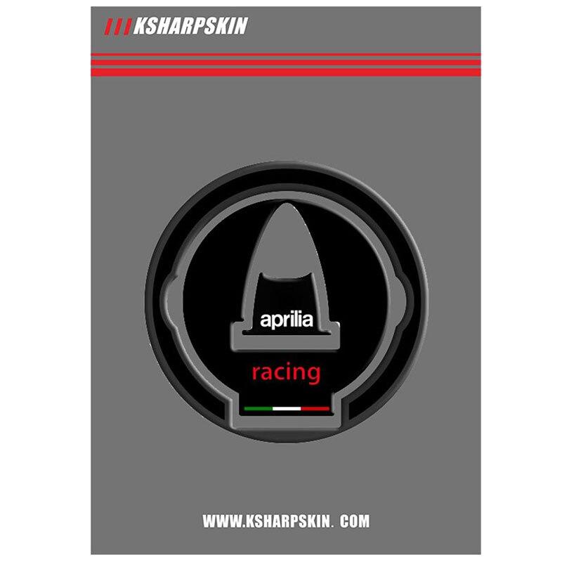 Motorcycle Sticker 3D Carbon Fiber Fuel Tank Cap Filling Cover Sticker Tank Sticker For BMW APRILIA RSV4