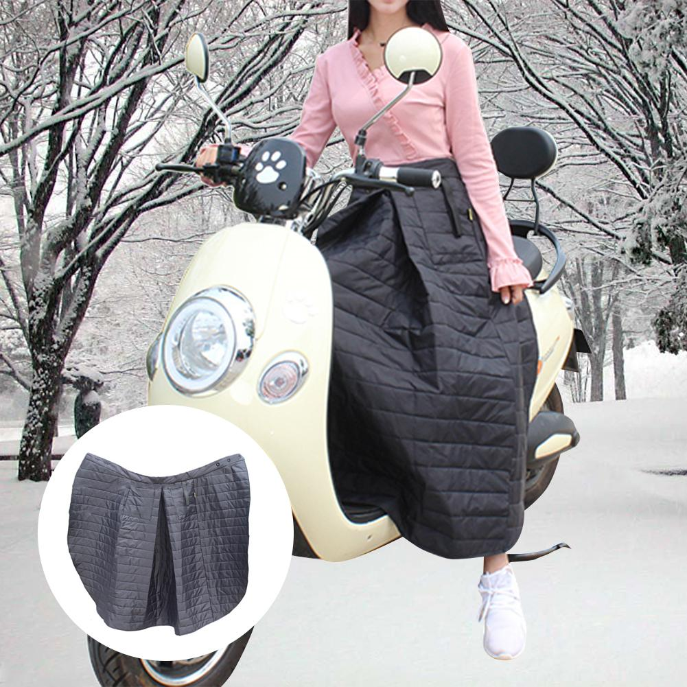 Winter Riding Windproof Cotton Skirt Knee Waist Leg Cover Waterproof Electric Motorcycle Windproof Cover