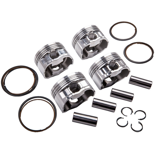 Engine Pistons & Rings Kit for Audi 8P A3 EA888 Engine 82.5mm Φ23mm 9.5:1 2