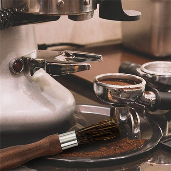 TTLIFE Coffee Grinder Cleaning Brush with Natural Bristles Lanyard Coffee Machine Brush Cleaner Tool for Barista Home Kitchen 5