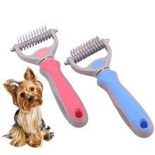 Щетка для вычесывания шерсти домашних животных инструмент груминга