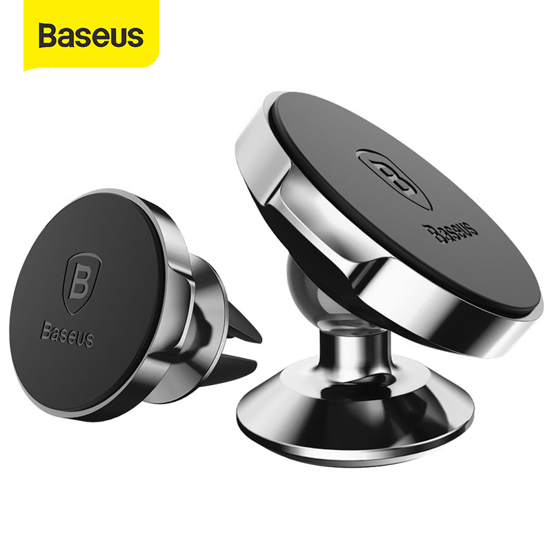 Baseus Magnetic Car Phone Holder Universal Magnet Holder In Car Mobile Phone Holder Stand Mount For IPhone X 8 7 With Small Ears