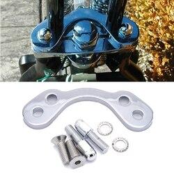 Springer Handlebar Tree Adapter Top Clamp 3.5 Inches Wide Riser Fit Harley Bobber Chopper