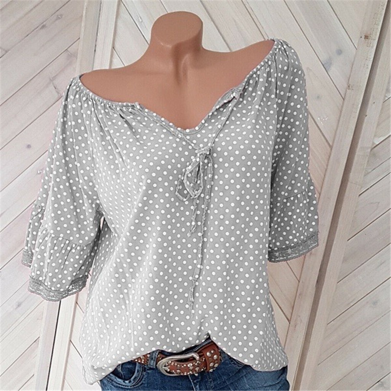 womens tops gothic vintage chiffon blouse korean fashion clothing streetwear blouses casual v-neck print shirt girls top