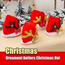 Рождественские украшения рождественские шляпы Санты для взрослых