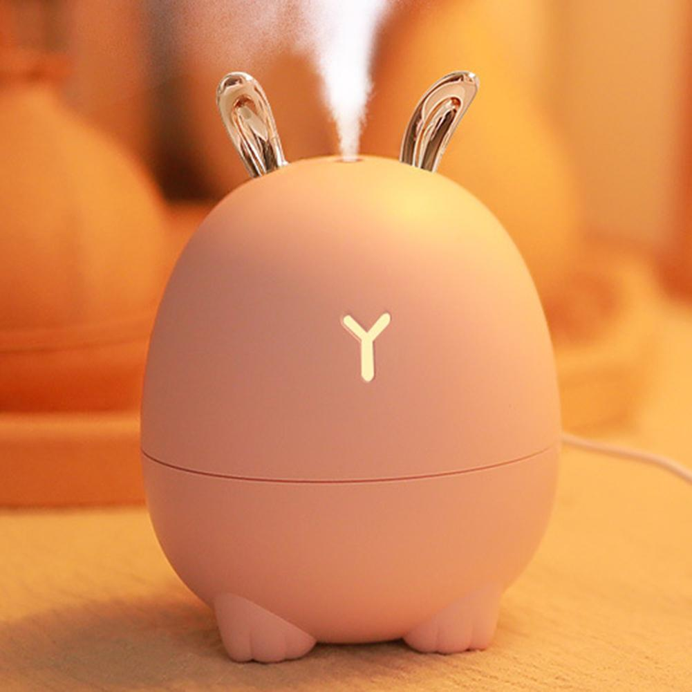 300ml Rabbit Elk USB Powered Ultrasonic Air Humidifier Essential Oil Diffuser