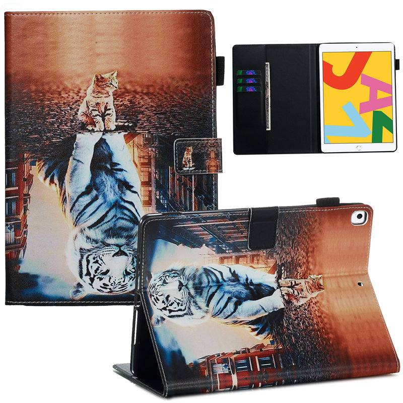 For 2019 Generation Funda Cover A2200 iPad Apple Case A2232 Skin 10.2 Smart for iPad 7th