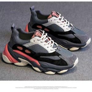 Image 1 - SWYIVY obuwie damskie platforma trampki 2020 wiosna nowe kobiece kliny trampki wygodne Chunky buty dla kobiety Sneaker