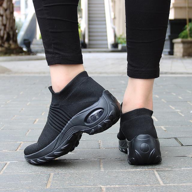 2020 Spring Women Sneakers Shoes Flat Slip on Platform Sneakers for Women