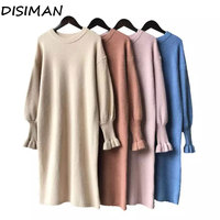 fall sweater dress plus size knitted ladies sweaters new luxury clothes pullover streetwear long sleeve winter sweater women