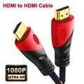 Кабель HDMI, видеокабели HDMI-HDMI, кабель с позолоченным покрытием 1,4, 1080P, 3D кабель для HDTV, сплиттер, переключатель PS3/4, 0,5 м, 1 м, 3 м, 5 м, 10 м, 15 м
