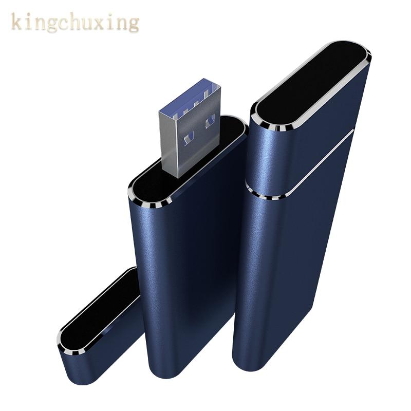 USB 3 0 SSD Mini External Flash Drive Portable High-Speed Hard Disk 1TB 512GB 256GB for Desktop Laptop Kingchuxing USB Interface
