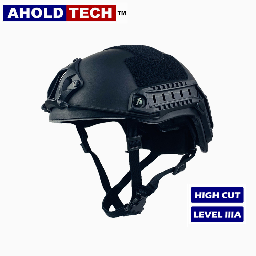 Aholdtech-Ballistic-Bulletproof-Military-Combat-Helmet-ISO-Certified-NIJ-Level-Superlight-IIIA-FAST-High-Cut