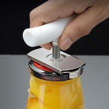 Abridor de latas Manual de acero inoxidable, herramientas para abrir latas, tapa fácil, tapas ajustables, giro de botella, 1-3,7 pulgadas, cocina