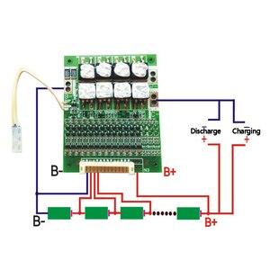 13 s bms 50a 48 v 18650 placa de proteção da bateria de lítio li-ion pcm bms 13 s circuito de equilíbrio placa de carregamento para veículos elétricos