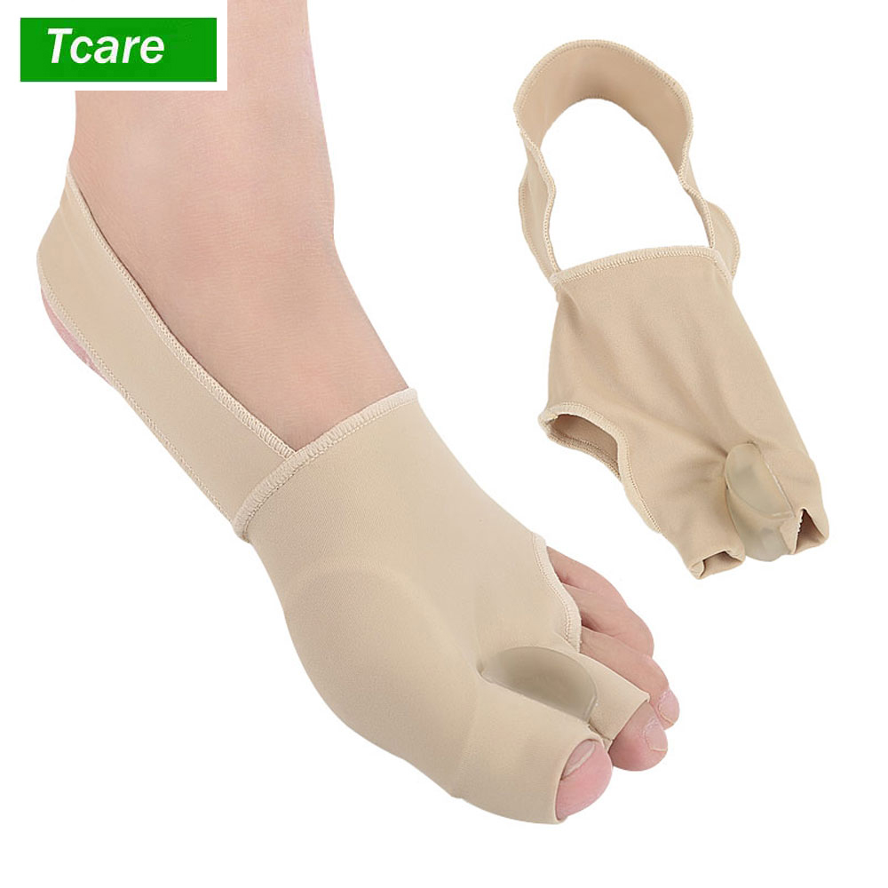 1Pair Three Toes Bunion Corrector Hallux Valgus Corrector Splint Three Toes Straighteners Pain Relief Size S/L