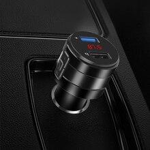 Zestaw głośnomówiący Bluetooth 4.2 z podwójną ładowarką samochodowa