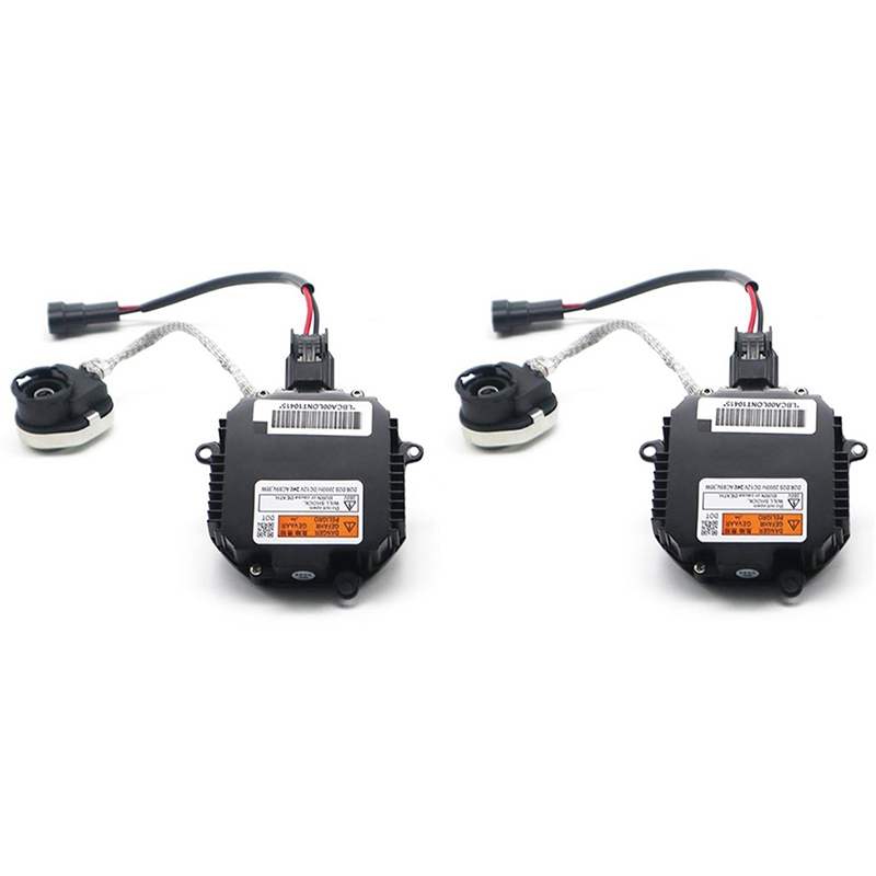 2Pc D2S D2R Xenon Ballast HID Control Unit 28474 89904 for Nissan Infiniti|Electronic Ignition| |  -