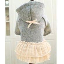 Одежда для собак шерстяное пальто кошек зимнее чихуахуа куртка