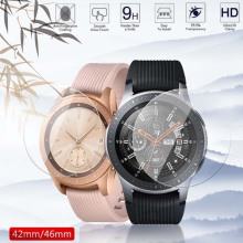 Screen-Protector Watch-Band Guard Tempered-Glass Galaxy Samsung for 46mm 42mm Anti-Explosion