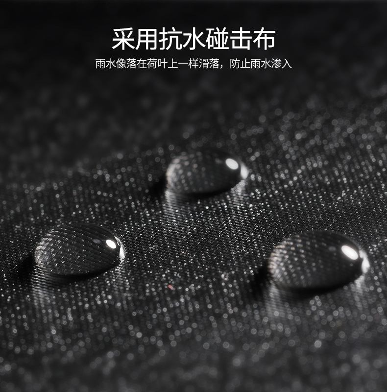 Yu Bao 2018 Parasol Black Umbrella Three Fold Parasol Folding Umbrella Customizable Advertisement Logo