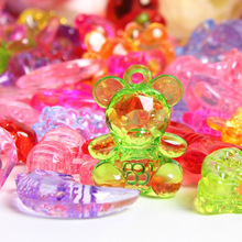 DIYHandmade Beaded Hand Making Necklac Bracelet Wedding Party Table Game Crystal Animal Small Diamond Decorations Children's Toy