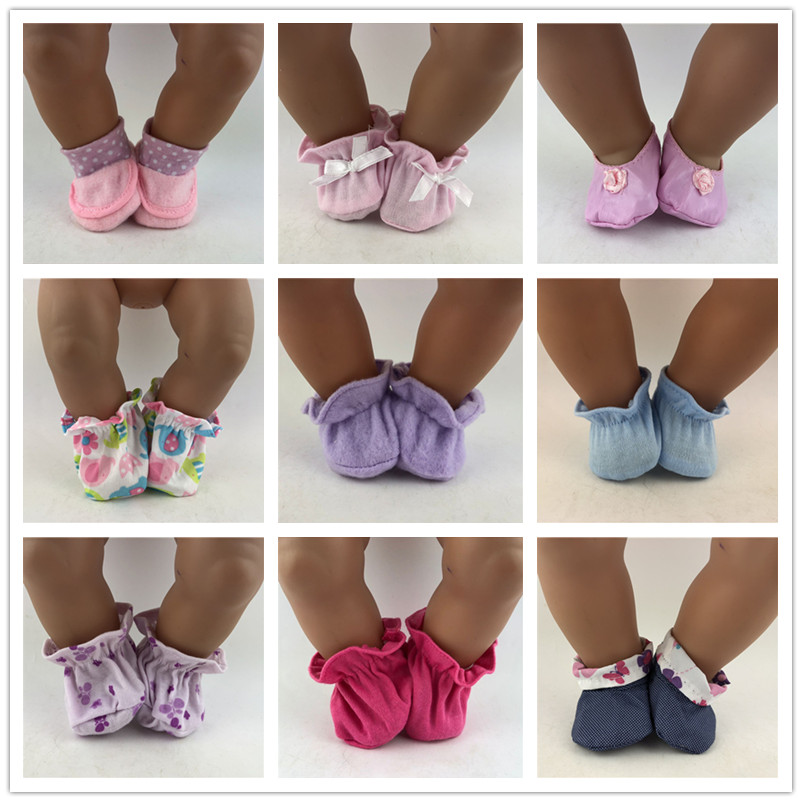 9Style Choose Soft Shoes Wear Fit 43cm/17inch Baby Doll, Children Best Birthday Gift(only Sell Shoes)
