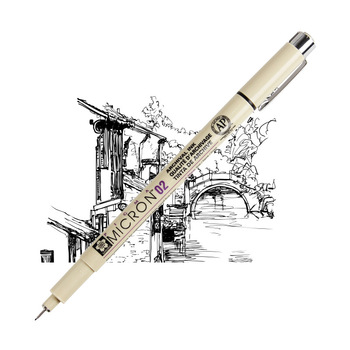 цена на Sakura Pigma Micron Needle Pen XSDK Black color Marker Brush Liner for Sketch Drawing Design Manga Comic Anime Art supplies F922