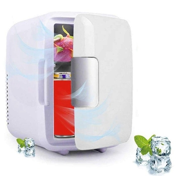 DC 12V 4L Car Refrigerators Portable Mini Fridge Ultras Quiet Low Noise Freezer Cooler and Warmer Fridge Outdoor