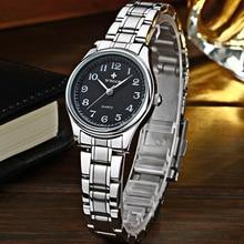 reloj mujer WWOOR Elegant Watch Women Female Luxury Black Sm