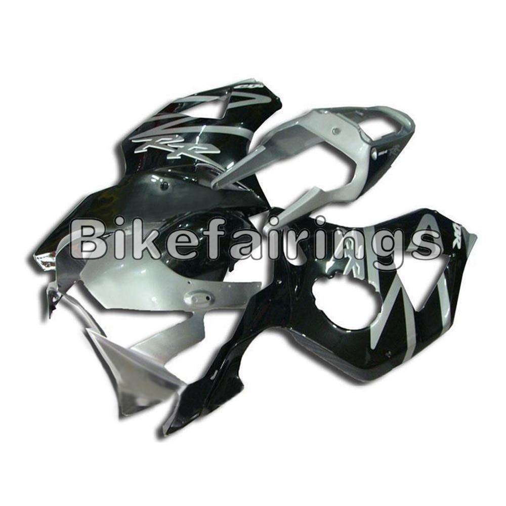 Carrosserie pour Honda CBR900RR 02 03 cadres de moto CBR954RR 2002 2003 carénages ABS Kits de carrosserie en plastique Autobike noir gris capot