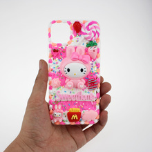 New kawaii phone case for iphone cover x xs xr se 11 pro max 12 mini apple coque protective shell cartoons funda cases