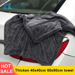 Image 1 - Thicken Extra Soft Car Wash Waxed crystal Microfiber Towel Car Cleaning Drying Cloth Car Care Cloth Detailing Car WashTowel