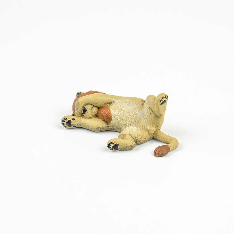 Японская оригинальная капсула спящий зоопарк животное Коллекционная 6 Морская выдра Лев котенок щенок Шиба орангутан Gashapon фигурка игрушка