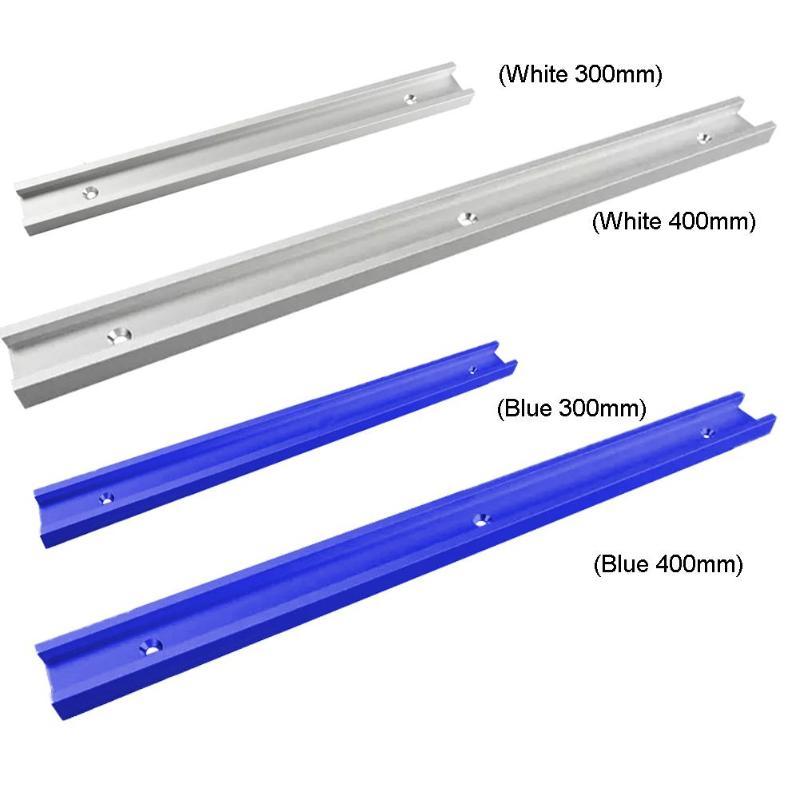 Woodworking Aluminum Alloy T-tracks Slot Miter Track Jig Fixture Track And Miter Bar Slider Table Saw Miter Gauge Rod