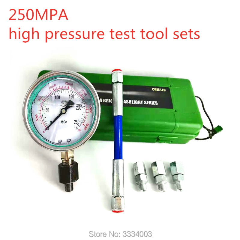 2500bar 4000bar High Pressure Common Rail Tube Pump Plunger Pressure Test Tool Sets