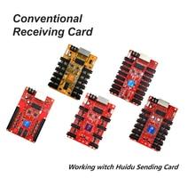 Huidu HD-R512S HD-R508 HD-R516 Réception Polychrome de Carte Fonctionne avec HD-C15C C35C HD-T901 L'envoi