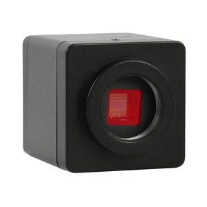 Image 2 - Telefon PCB lehimleme onarım laboratuvar endüstriyel 7X 45X simul fokal trinoküler Stereo mikroskop SONY IMX307 1080P VGA HDMI kamera