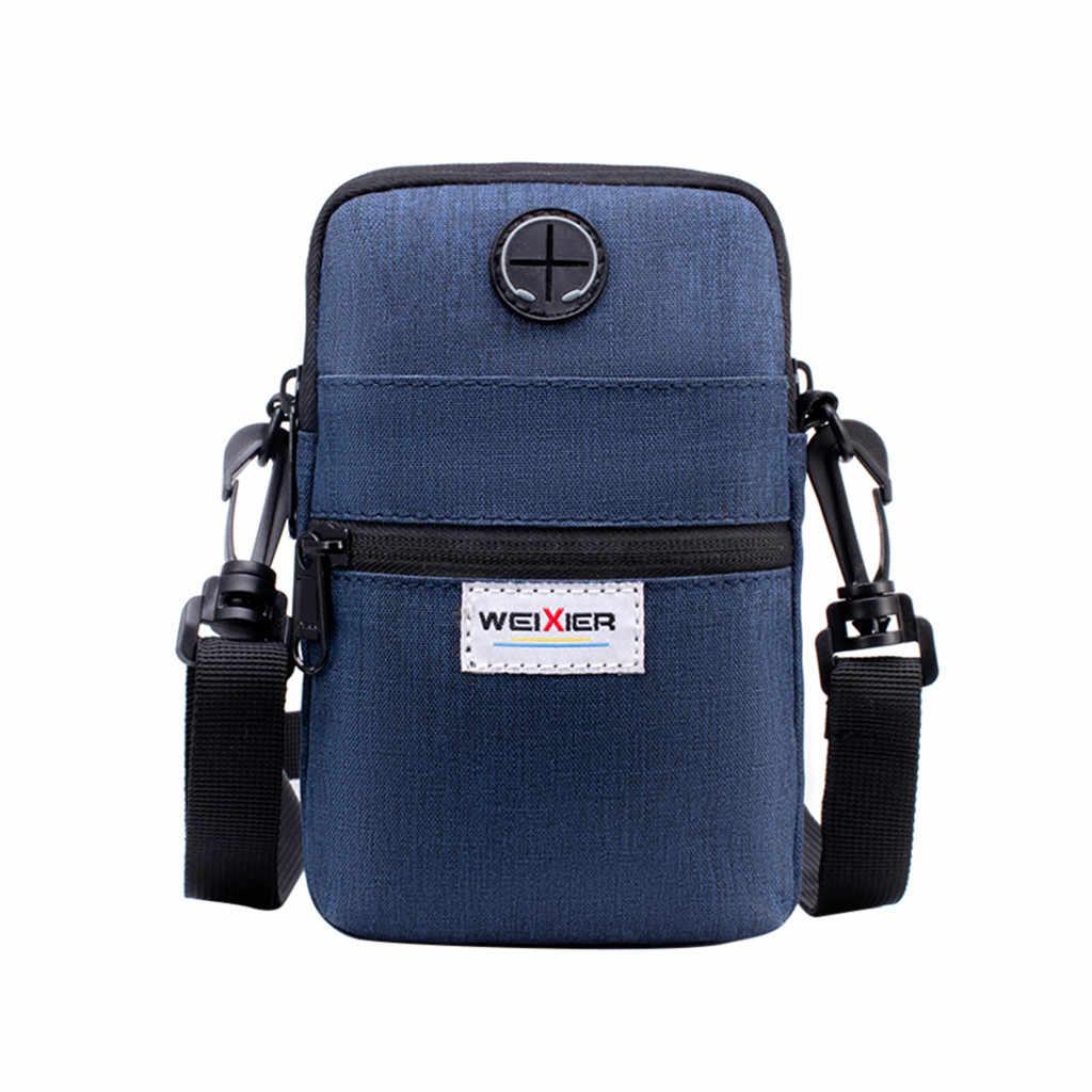 クロスボディバッグ男性斜めミニショルダーバッグ多機能携帯電話の袋アウトドアスポーツカジュアルバッグボルサ masculina #15