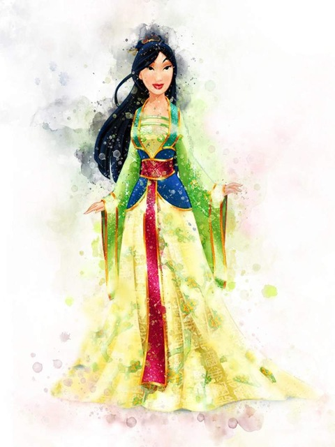 All-Princess-Watercolor-Painting-Canvas-Print-Nursery-Wall-Art-Poster-Elsa-Anna-Party-HD-Picture-Baby.jpg_640x640 (9)